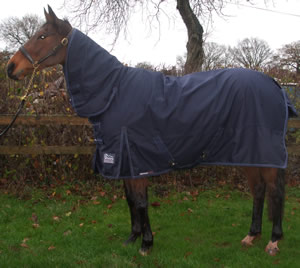 Washed, re-proofed & repaired turnout rug